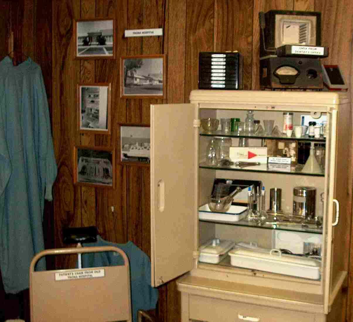 Hospital Medicine Cabinet Gem O Rama Searles Lake